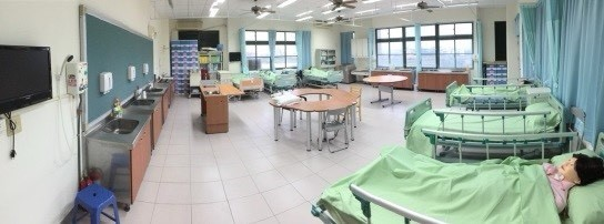 Classroom for long-term care skill practice